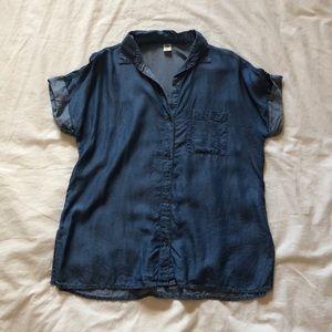 Old Navy Chambray T-shirt